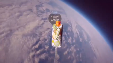 Frulite #Ksezoumiseto How to send a brand to the stars with a Weather Ballon by JNLeoussis+