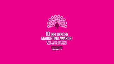 INFLUENCER MARKETING AWARDS 2020